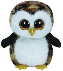 TY Inc Beanie Boos - Owliver, a bagoly 15cm (TY36121)