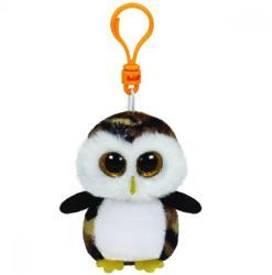 TY Inc Beanie Boos Clip - Owliver, a bagoly 8,5cm (TY36602)