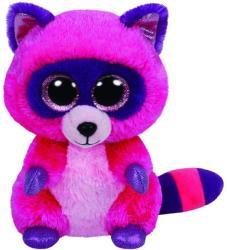 TY Inc Beanie Boos - Roxie, a pink mosómedve 15cm (TY36146)