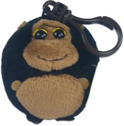 TY Inc Beanie Ballz Clip - Gorilla 6cm (TY38342)