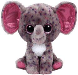 TY Inc Beanie Boos - Specks, a foltos elefánt 15cm (MCEE-36156)