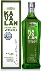 KAVALAN Concertmaster Port Cask Single Malt Whiskey 0,7L 40%