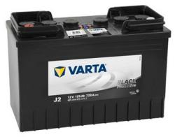 VARTA Promotive Black J2 125Ah EN 720A borna inversa (625014072)