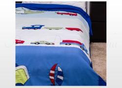 Naturtex autós gyermek ágytakaró 140x240cm