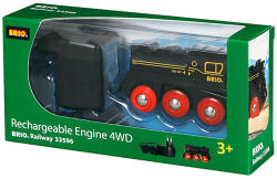 BRIO Újratölthető mozdony (33596)