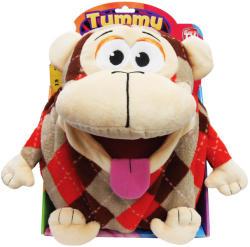 Jay@Play Tummy Stuffers Tömzsák állatka - Kockás majom (TUM84505)