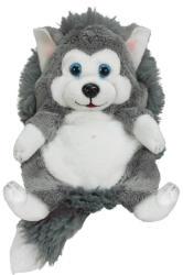 Jay@Play HideAway Pets - Bébi husky kutya plüssgombóc 13cm