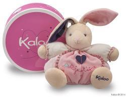 Kaloo Petite Rose Chubby Rabbit - Puha nyuszi ajándékdobozban 18cm