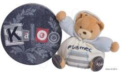 Kaloo Blue Denim Chubby Bear - Puha maci 18cm ajándékdobozban