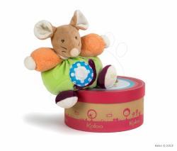 Kaloo Colors Chubby Mouse - Puha egér ajándékcsomagolásban 18cm