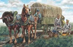 Italeri Napoleonic Wars - French Supply Wagon 1/32 6886