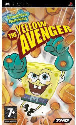 THQ SpongeBob SquarePants The Yellow Avenger (PSP)