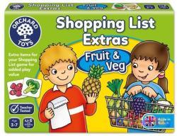 Orchard Toys Bevásárlólista kiegészítő - gyümölcsök, zöldségek
