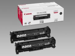 Canon CRG-718BK Black Twin Pack 2662B005