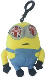 Dongguan Yuan Kang Plush Toys Minyonok: Brit minyon műanyag csattal 14cm