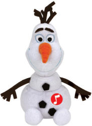 TY Inc Disney Jégvarázs - Olaf, a hóember hanggal 24cm (TY90152)