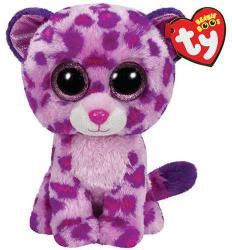 TY Inc Beanie Boos - Glamour, a rózsaszín leopárd 15cm (TY36085)