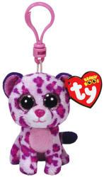 TY Inc Beanie Boos Clip - Glamour, a rózsaszín leopárd 8,5cm