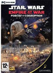 LucasArts Star Wars Empire at War Forces of Corruption (PC)