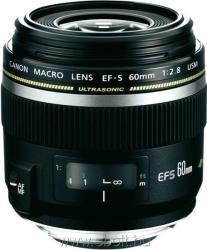 Canon EF-S 60mm f/2.8 USM Macro (AC0284B003AA)