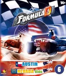 Asmodee Formula D - Austin & Nevada kiegészítő