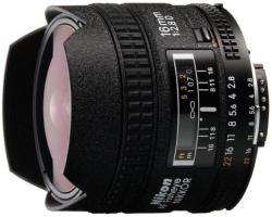 Nikon AF 16mm f/2.8D Fisheye (JAA626DA)