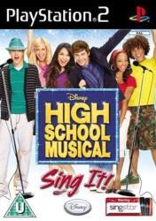 Disney High School Musical Sing It! (PS2)