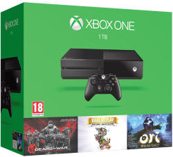 Microsoft Xbox One 1TB + Gears of War Ultimate + Rare Replay + Ori and the Blind Forest