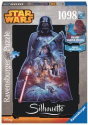 Ravensburger Sziluett puzzle - Star Wars - Darth Vader 1098 db-os (16158)