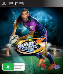 Tru Blu Entertainment Rugby League Live 3 (PS3)