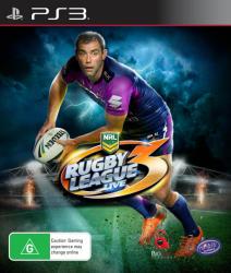 Tru Blu Entertainment Rugby League Live 3 (PS3)