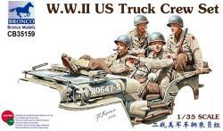Bronco W.W.II US Truck Crew Set 1/35 35159
