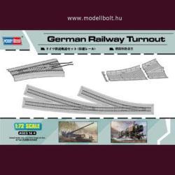 HobbyBoss German Railway Turnout 1/72 HBOSS82909
