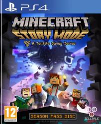Telltale Games Minecraft Story Mode [Season Pass Disc] (PS4)