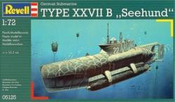 Revell U-Boot Type XXVIIB Seehund 1/72 5125