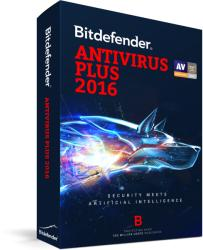 Bitdefender Antivirus Plus 2016 (1 User, 3 Year) UL11013001
