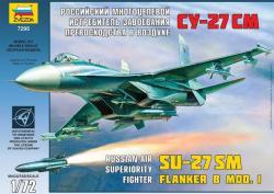 Zvezda SU-27SM 1/72 7295