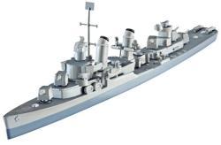 Revell USS Fletcher DD-445 1/700 5127