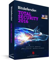 Bitdefender Total Security 2016 (1 User, 3 Year) UL11053001