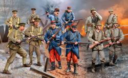 Revell Set WWI German/British/French 1/35 2451