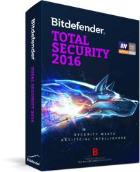 Bitdefender Total Security 2016 (1 User, 1 Year) UL11051001