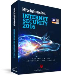 Bitdefender Internet Security 2016 (1 User, 1 Year) UL11031001