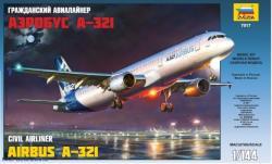 Zvezda Airbus A-321 1/144 7017