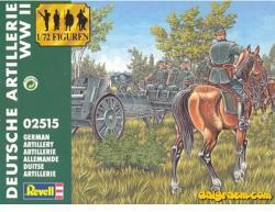 Revell Deutsche Artillerie WW II 1/72 2515
