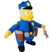 The Simpsons - Wiggum rendőrfőnök 35cm