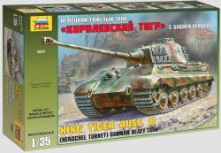 Zvezda Turret King Tiger Ausf. B 1/35 3601