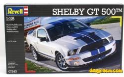 Revell Shelby GT 500 1/25 7243