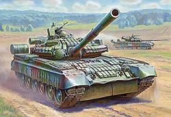 Zvezda T-80BV Russian Main Battle Tank 1/35 3592