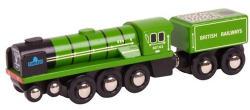 Bigjigs Toys Tornádó legendás mozdony BJT455