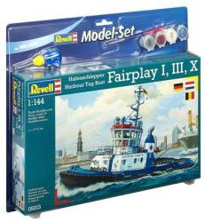 Revell Harbour Tug Boat ' Fairplay I, III, X, XIV' Set 1/144 65213